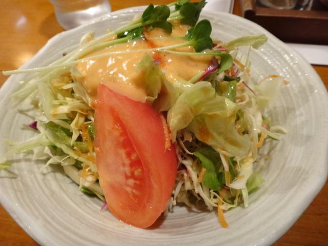 さんきちサラダは本当に美味しいです。