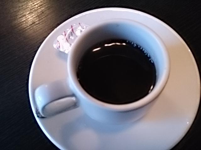 コーヒーもついてます~。