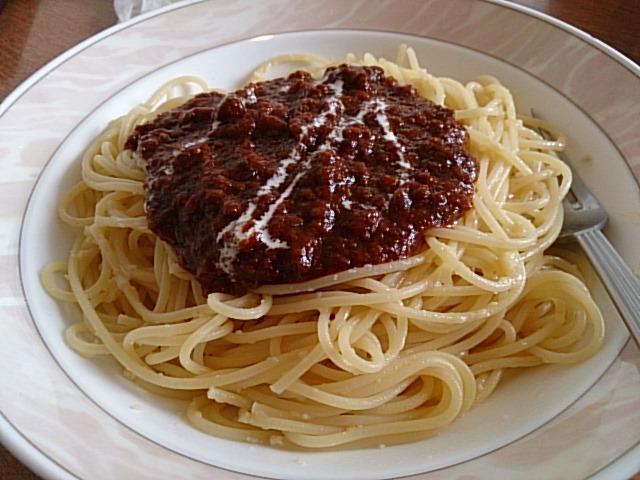 ここのスパゲティーは最高です!
