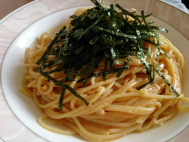 なんといってもスパゲティーは最高です!!